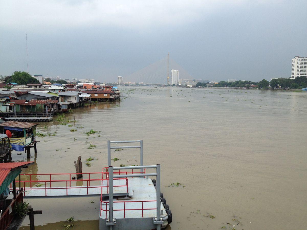 Blick über den Chao Phraya