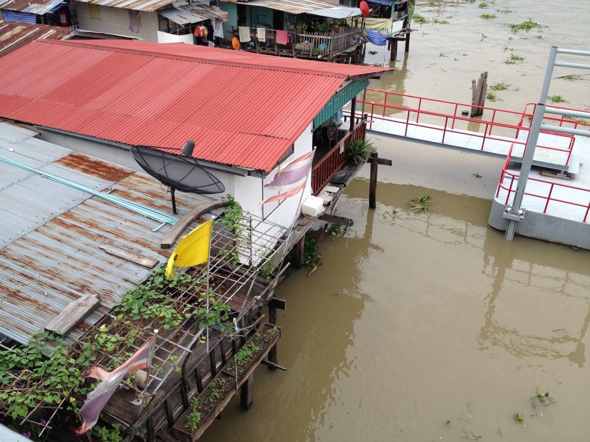 Stelzenhaus am Chao Phraya