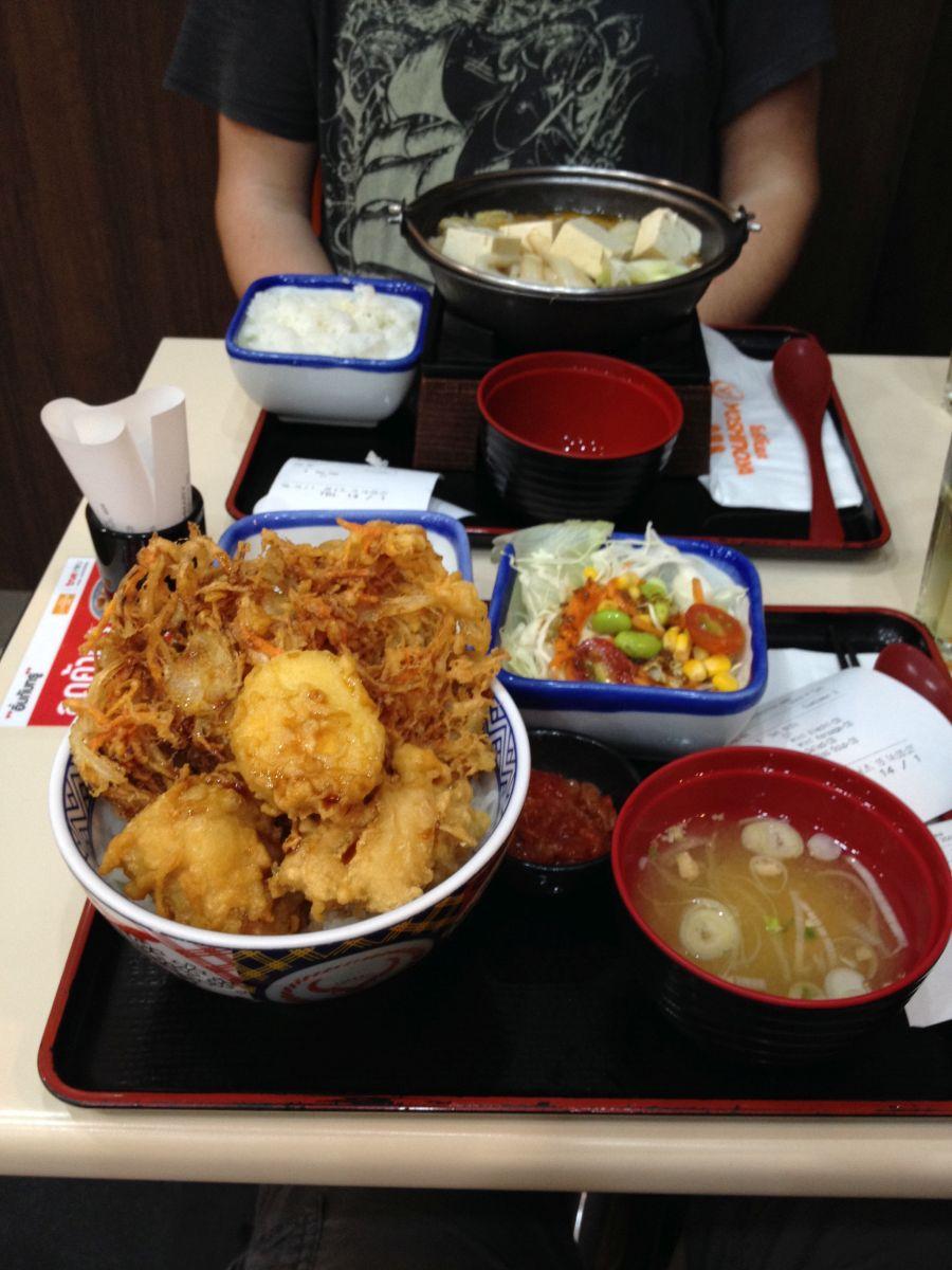 Japanisches Mittagessen im Terminal 21