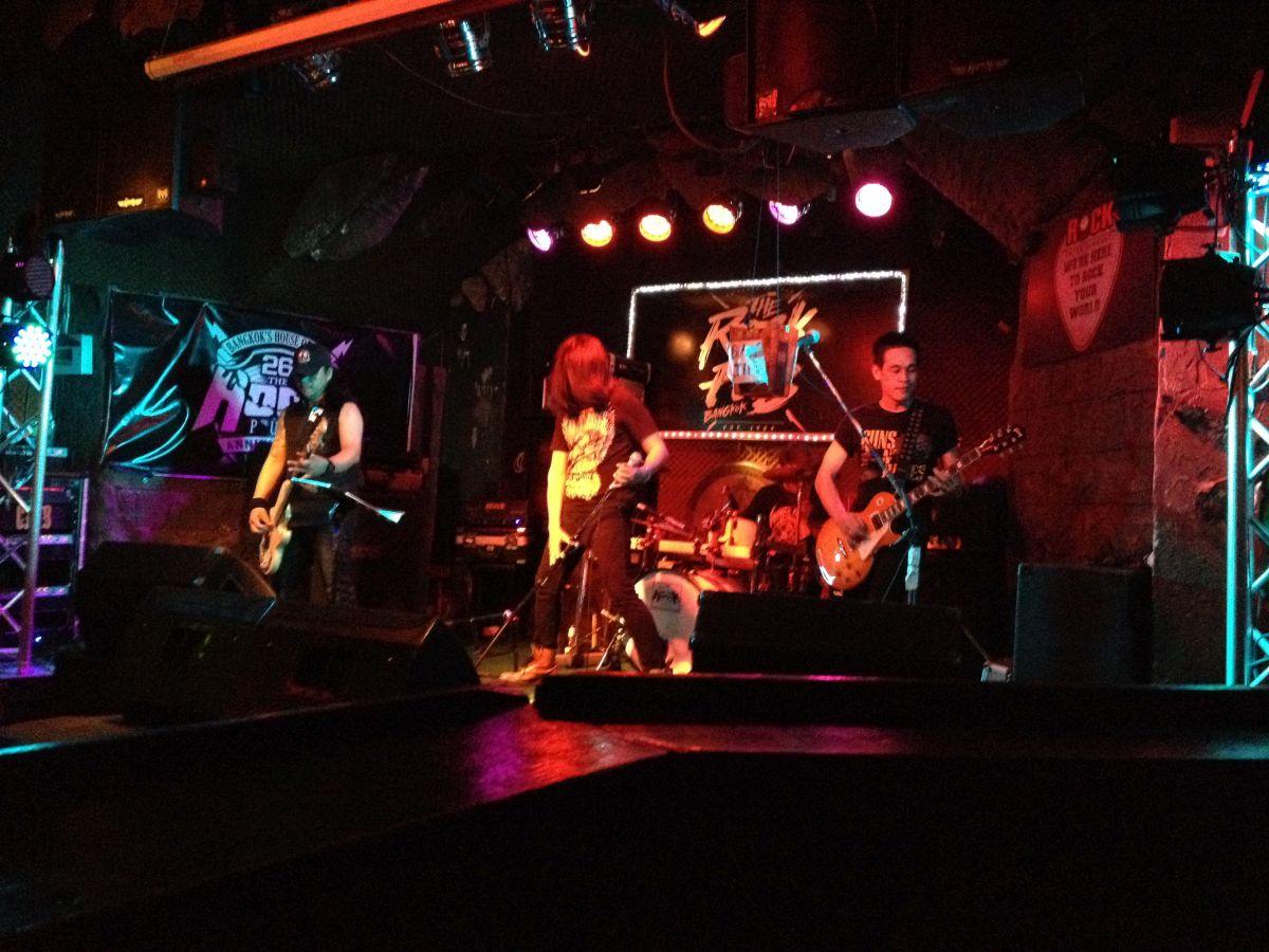 Hardrock-Coverband Munson live. Waren laut, die Jungs!