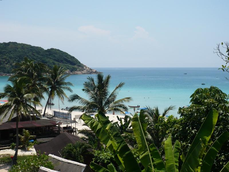 Malaysia 2011 auf Pulau Perhentian Kecil. Man war das schön.