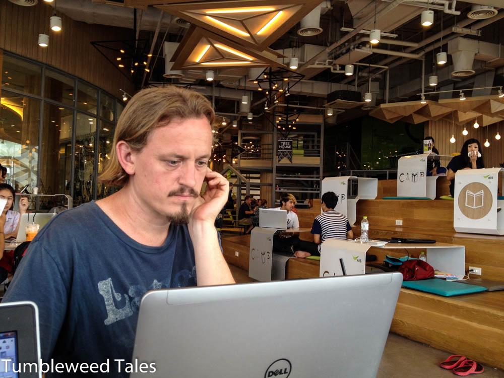 Nico im Coworking Maya