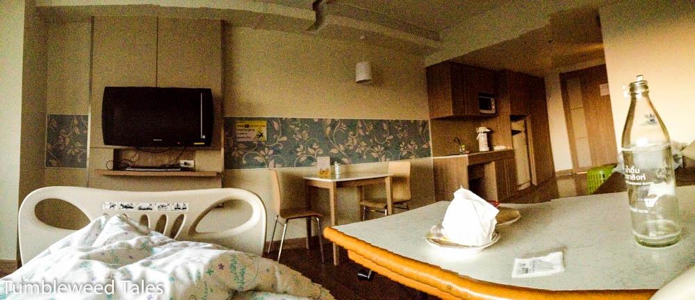 Eine Nacht im Krankenhaus