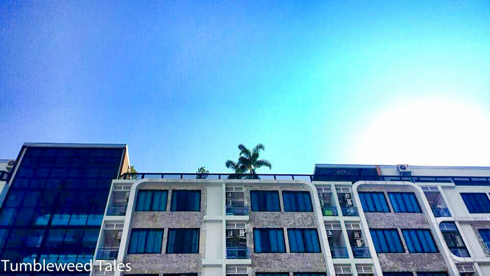 Blick nach oben in Chiang Mai