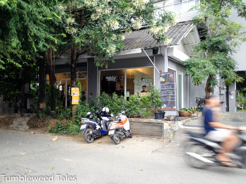 Ein Co-Working-Space in Nimman Haemin in Chiang Mai