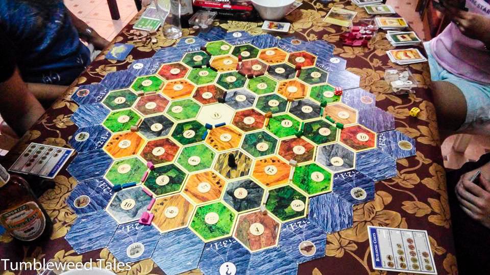 Brettspielabend: Siedler von Catan mit 9 Leuten!