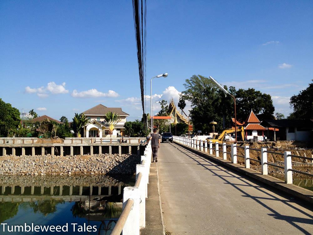 Brücke über den Ping