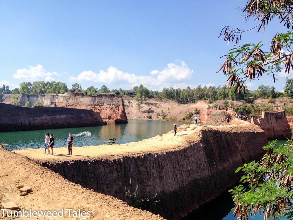 Der Chiang Mai Canyon. Ein Paradies für halbstarke Backpacker