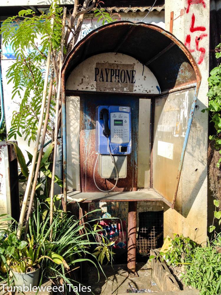 Oh, eine Telefonzelle! Wie antik!
