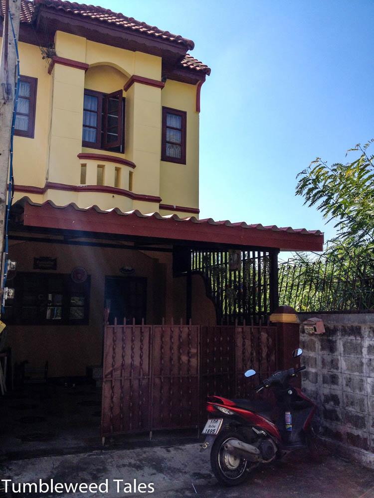Chiang Mai Haus - von vorn