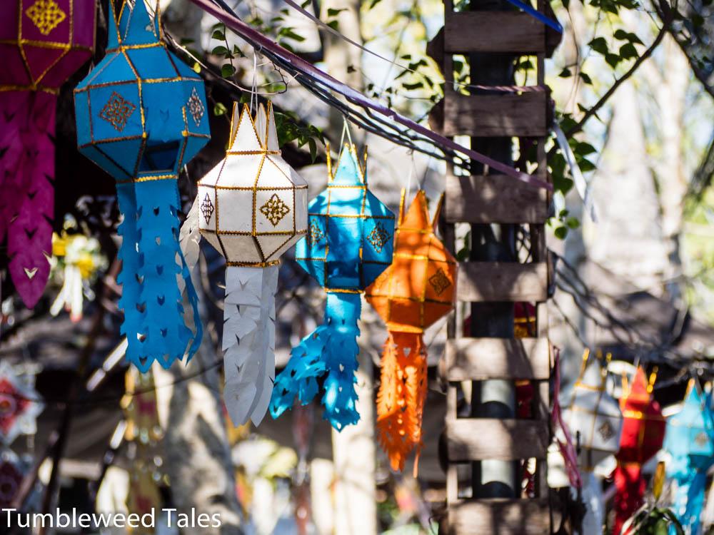 Lampions in Baan Tawai