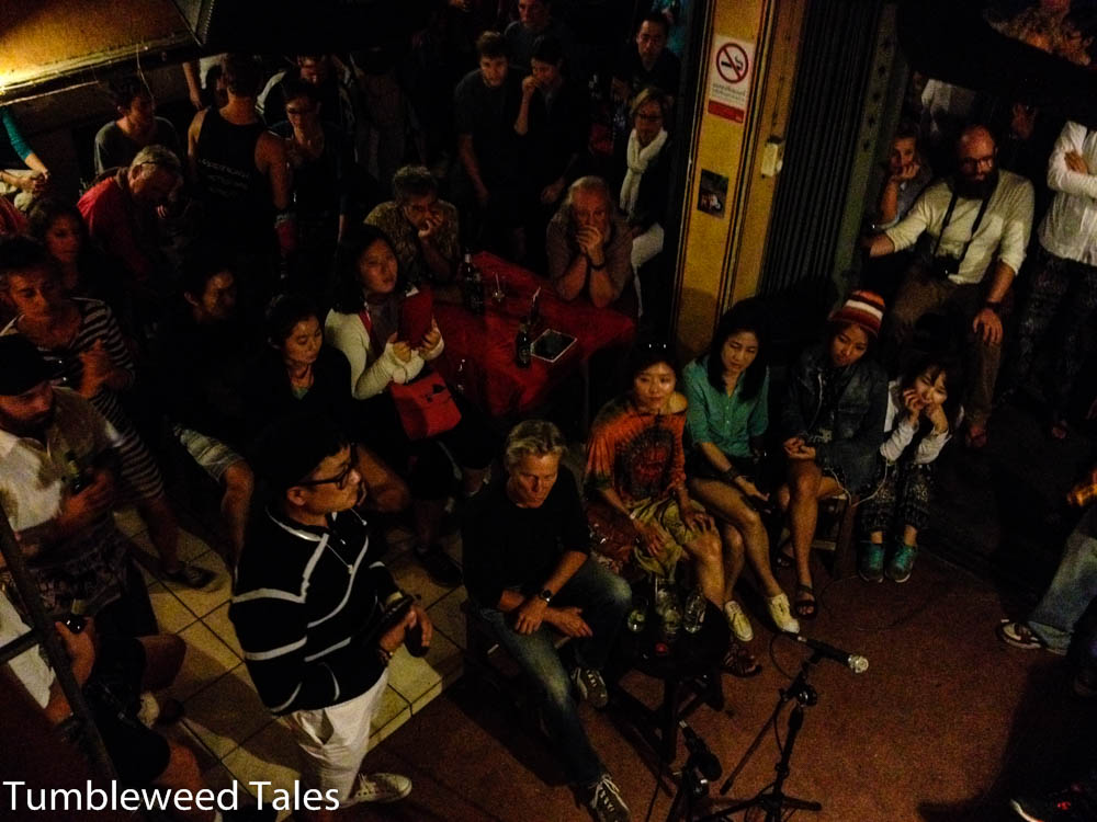 Andächtiges Publikum