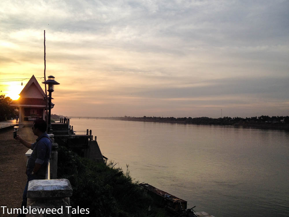 Laos - Nong Khai Mekong Friedship Bridge