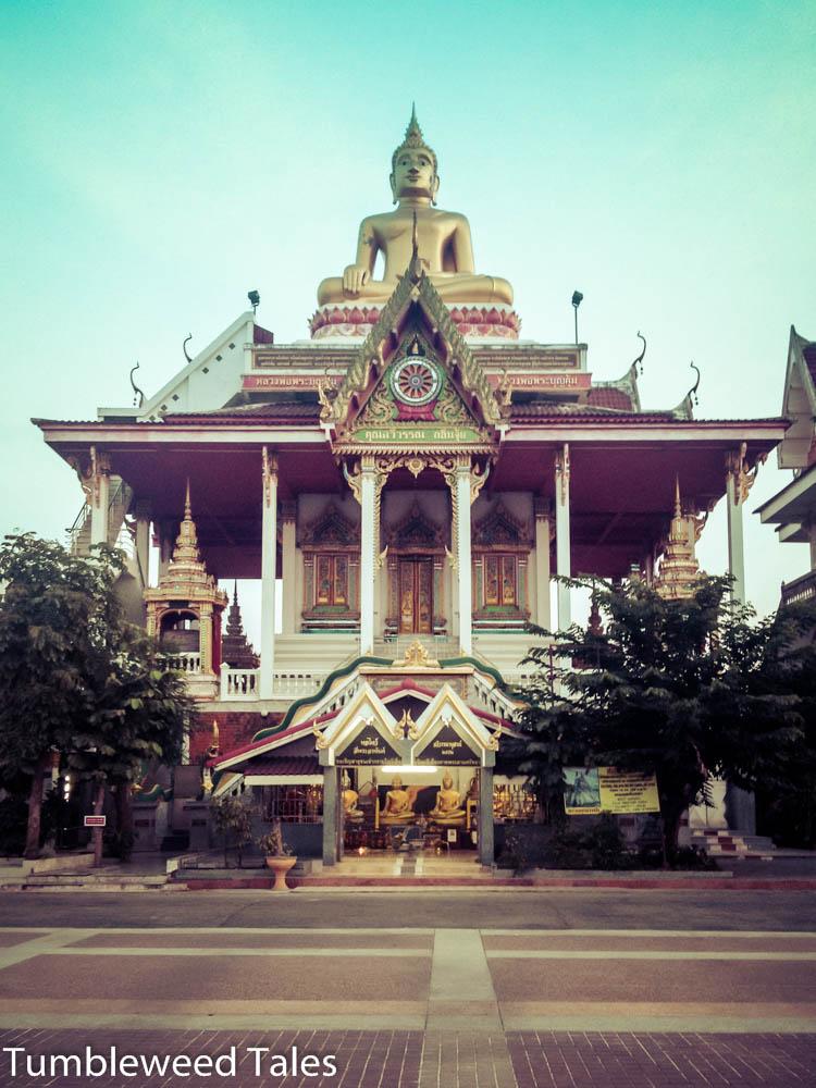 Ein Tempel in der Nähe vom Busbahnhof