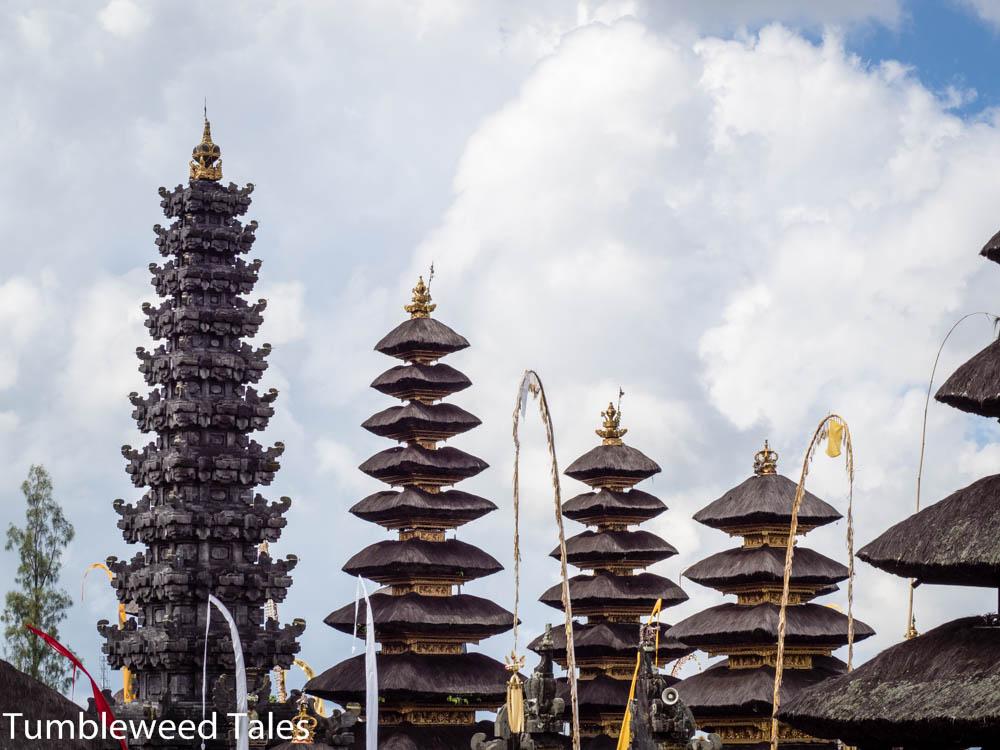 Blick über die Tempeltürme