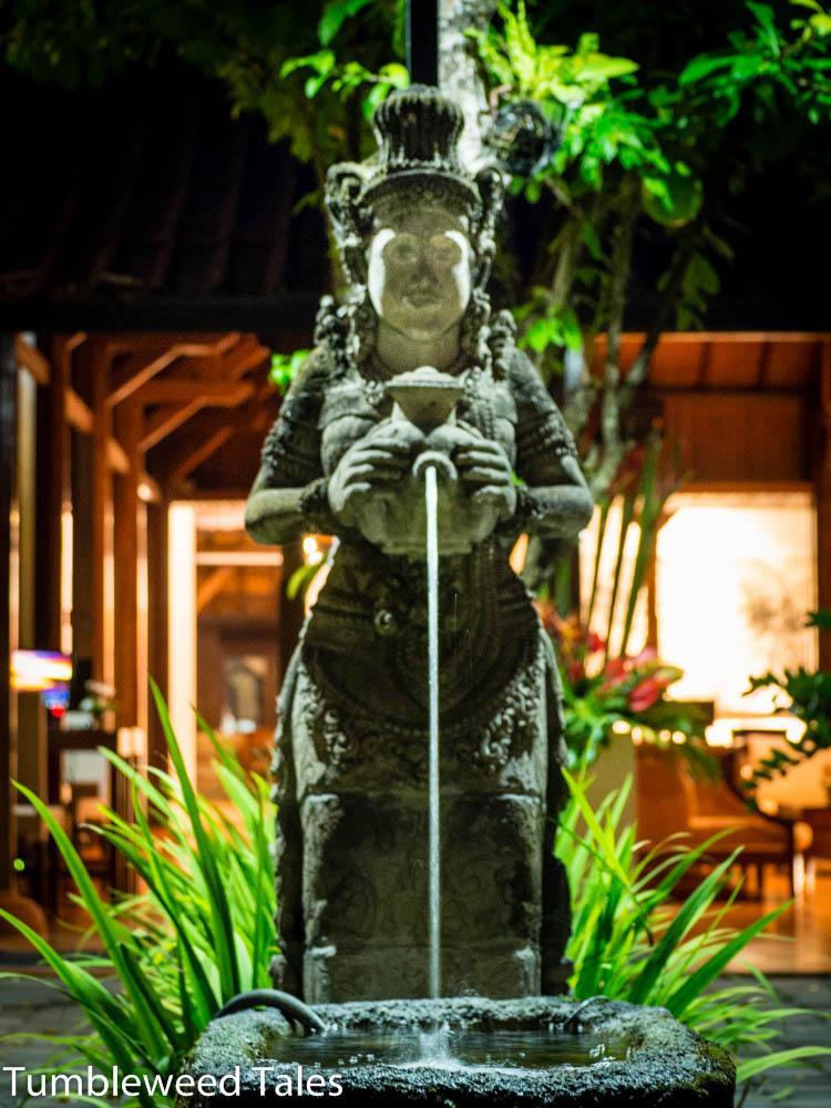 Brunnen im Hotel