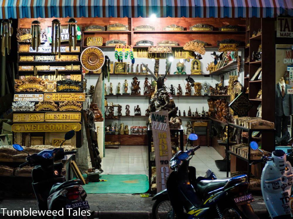 Ein Shop in Sanur