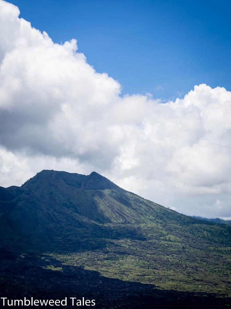Blick auf den (inneren) Vulkan Batur