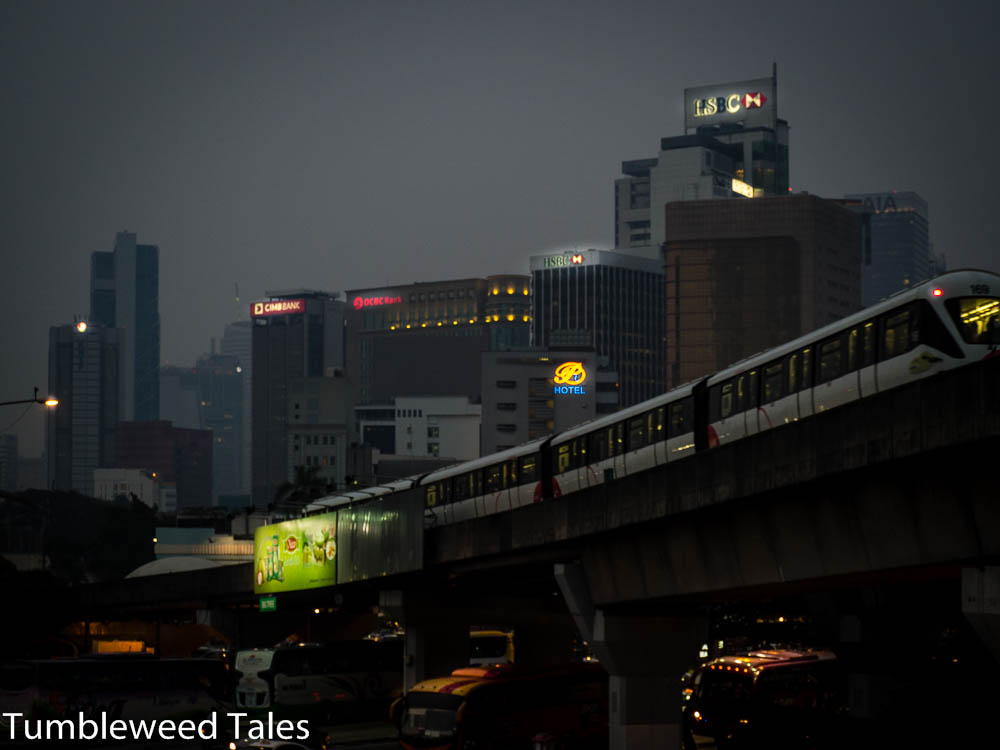 Kuala Lumpur – Skytrain Noir!