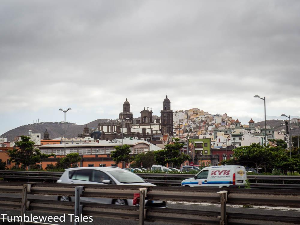 Von der Hafenpromenade Richtung Vegueta