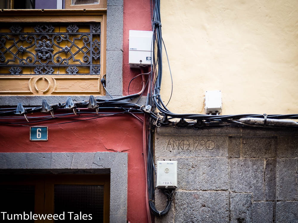 Kabelwirrwarr für Nico