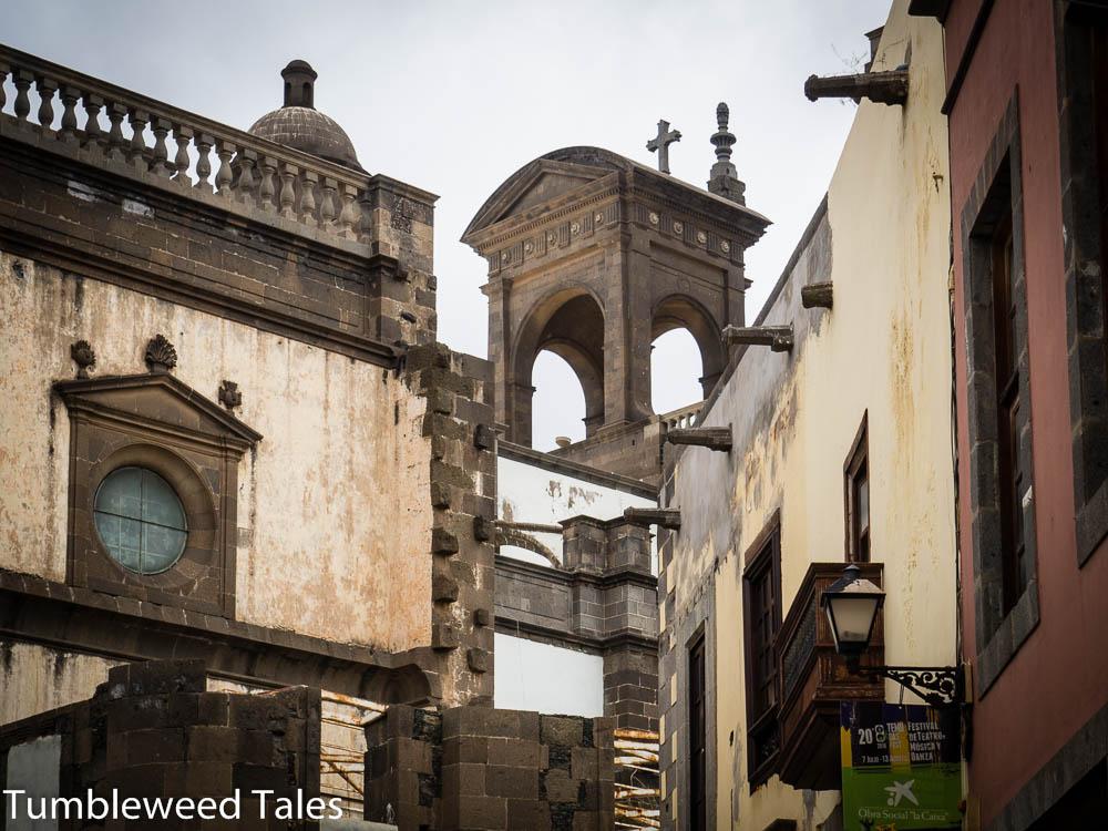 Teil der Kathedrale Santa Ana, der ersten Kirche auf den Kanaren
