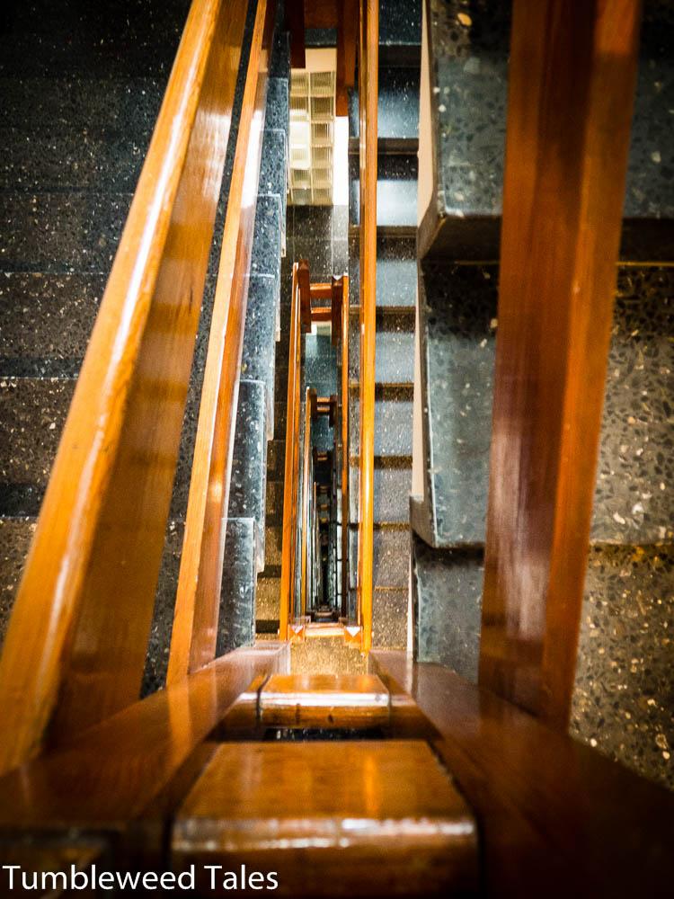 Höhenangst beim Treppensteigen?