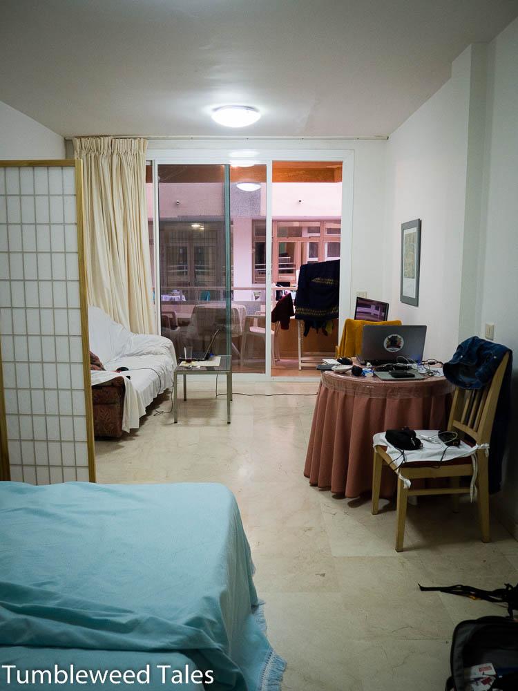 Unsere Wohnung für August – klein aber in bester Lage