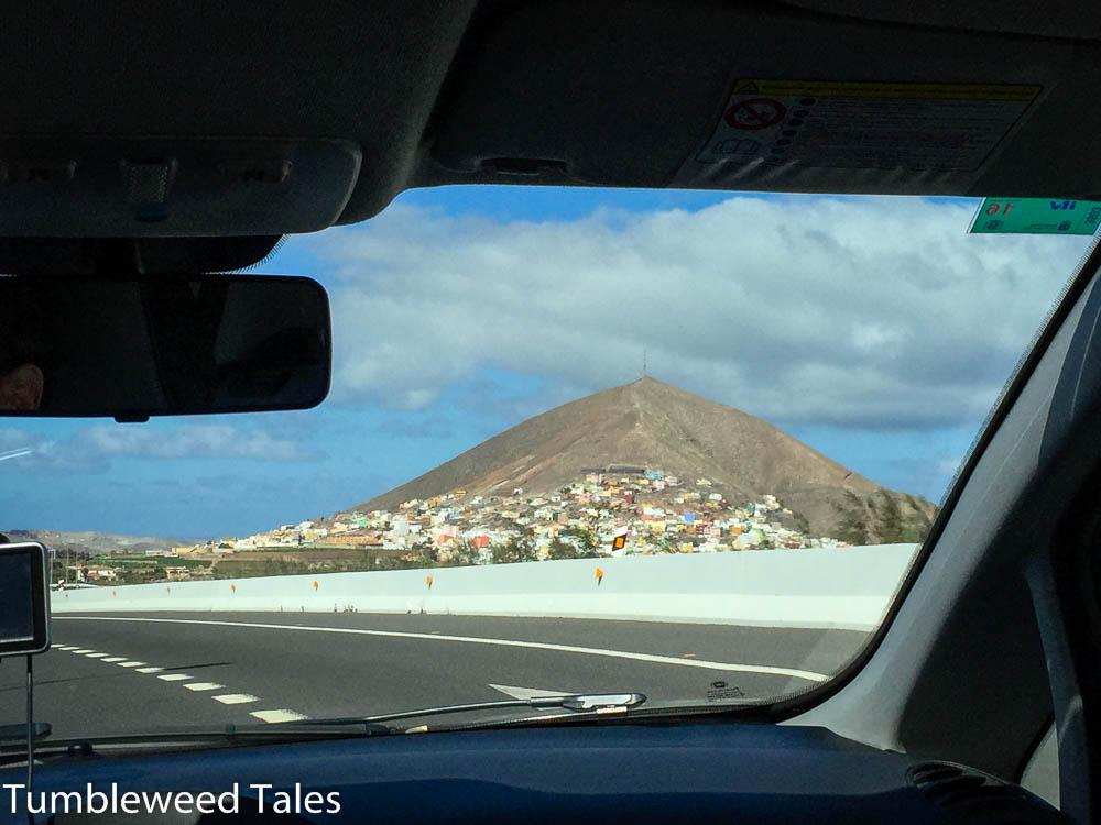 Der Pico de Gáldar im Nordwesten von Gran Canaria