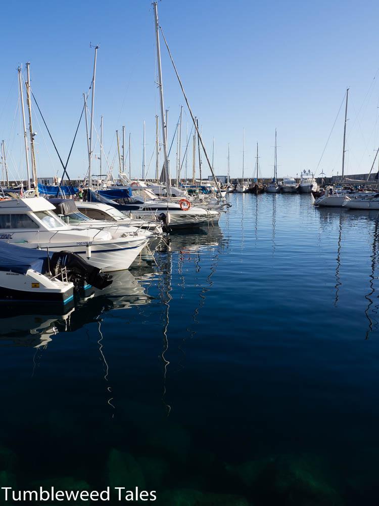 Der Hafen in Puerto de Mogán – der Ort war früher in erster Linie ein Fischerdorf
