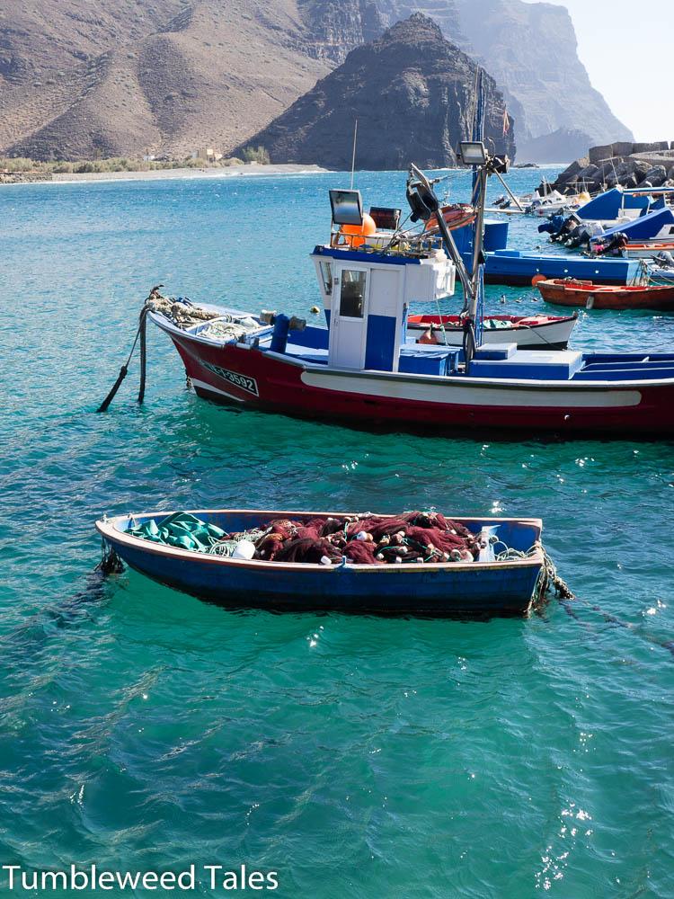 Hafen am Playa de La Aldea