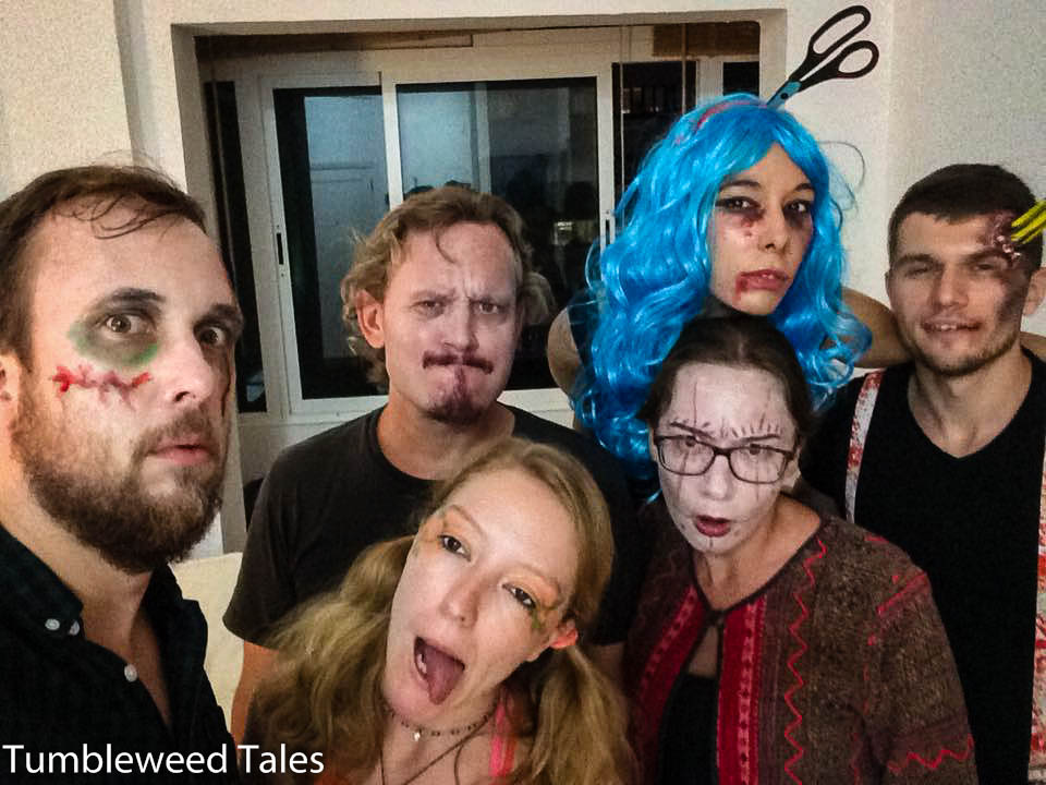 Halloweenparty in der Co-Living-WG
