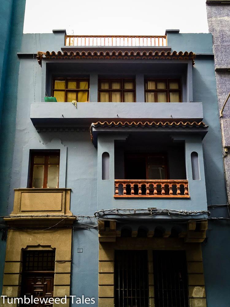 Die Stadt ist nicht wirklich hübsch, aber es gibt immer mal wieder nette Häuser dazwischen.