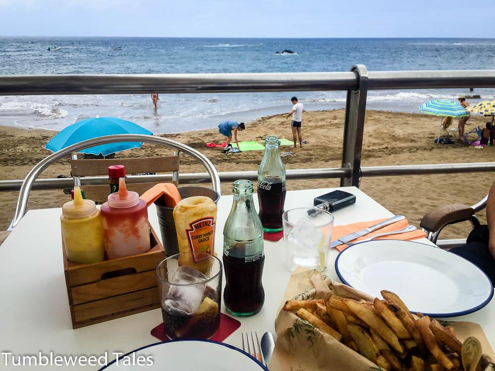 playa-de-las-canteras-mittagessen