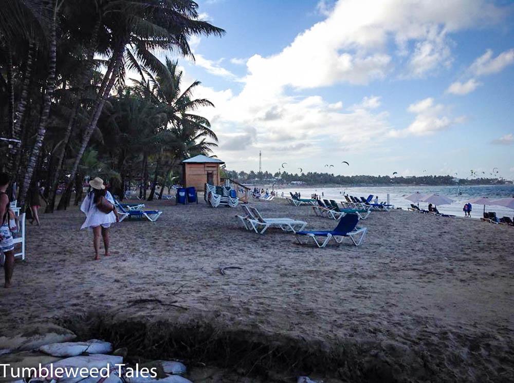 Kite Beach im Nordwesten von Cabarete