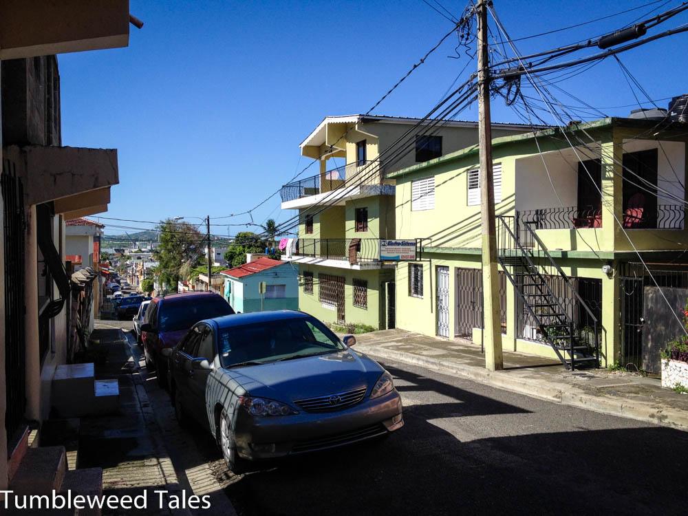 Wohngegend in Puerto Plata