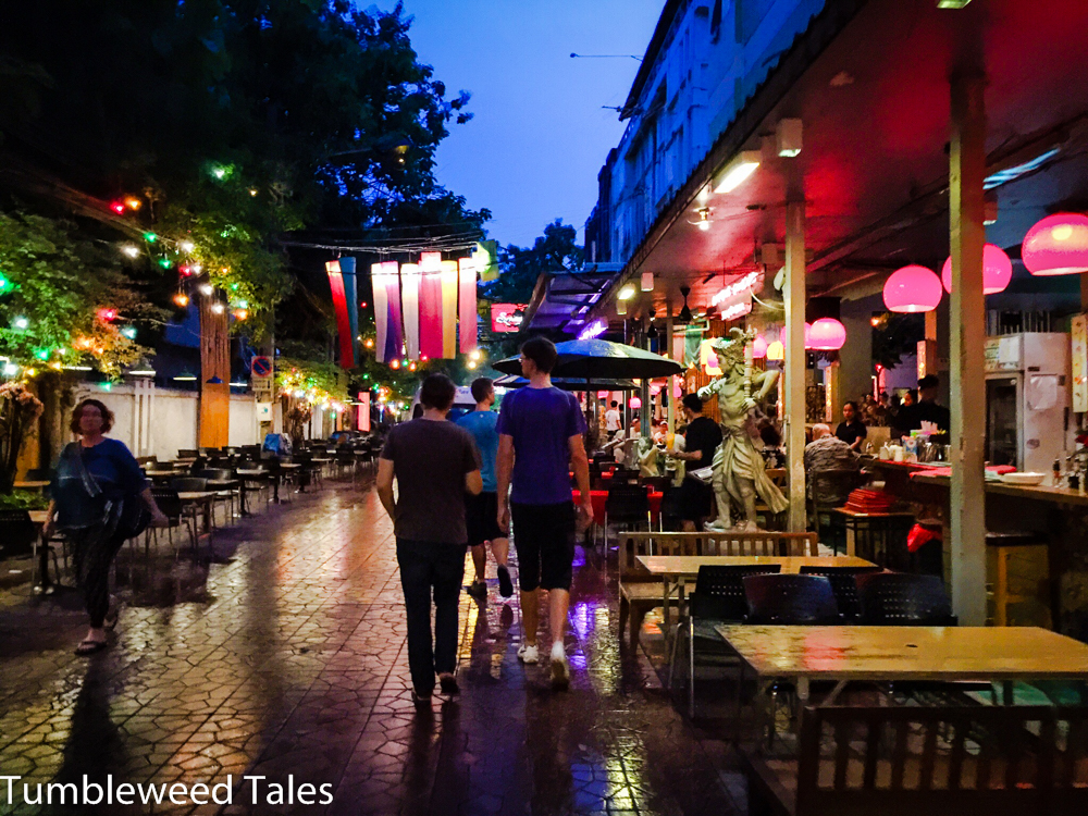 Cooles Sträßchen in der Nähe der Khao San Road