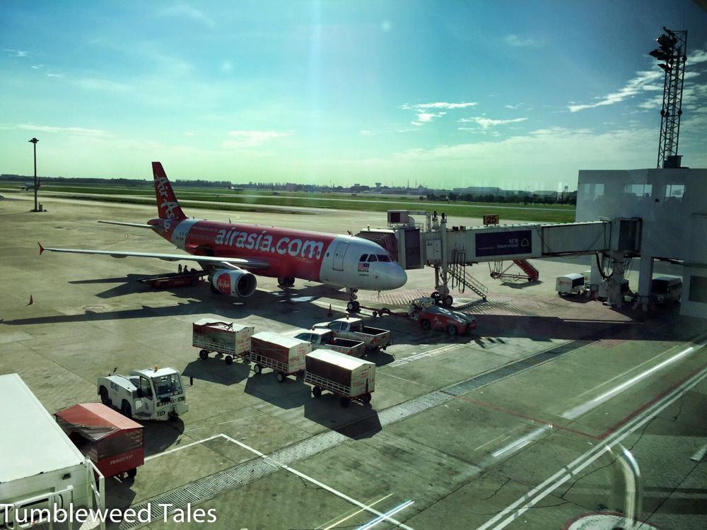 Visa Runs in die Nachbarländer sind mit Air Asia schön günstig