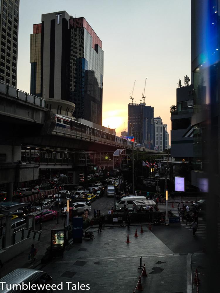 Bangkok der Moloch... Mehr als 8 Mio. Einwohner!
