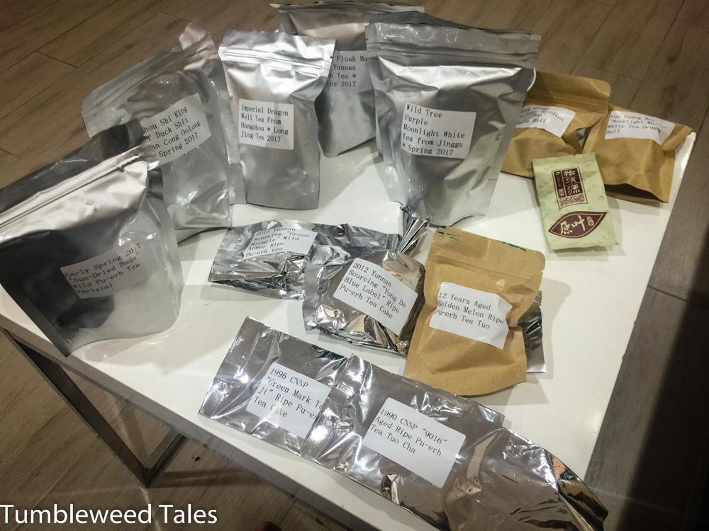 Schnelle Teelieferung von Yunnan Sourcing. Wie gut, dass China so nah ist!