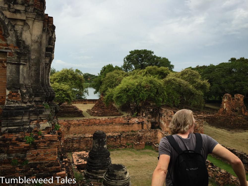 Gute Aussicht im Wat Phra Ram