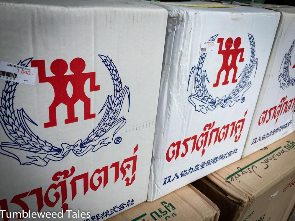Zwilling-Plagiate in einem Haushaltswarenladen in Chiang Mai. Musste ich als Solinger natürlich fotografieren!