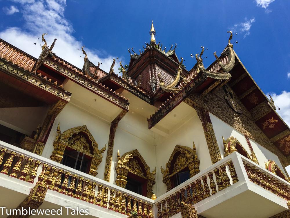 Wat Buppharam östliche vom Thapae Gate
