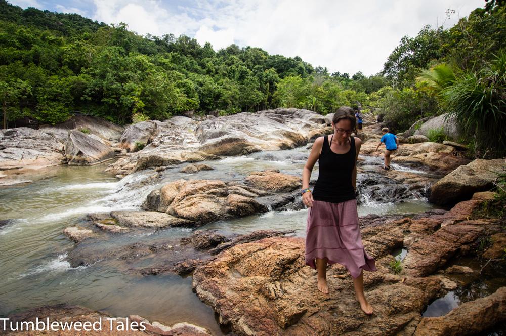 Wasserfall kurz vorm Haad Than Sadet